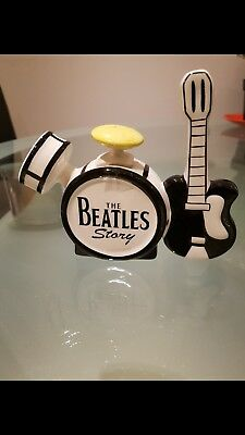 """Lorna Bailey Teapot  """"The Beatles Story"""".  Never been displayed."""