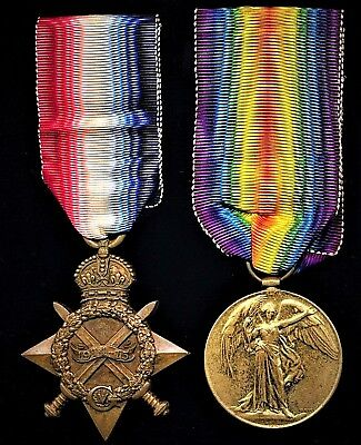 British Medal Pair: POONA HORSE served France 1914-15 with British Indian Army