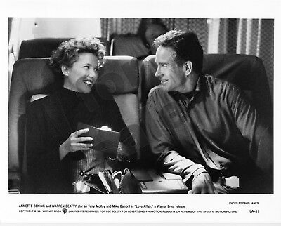 Love Affair Movie Still B&W Photo Warren Beatty Annette Bening