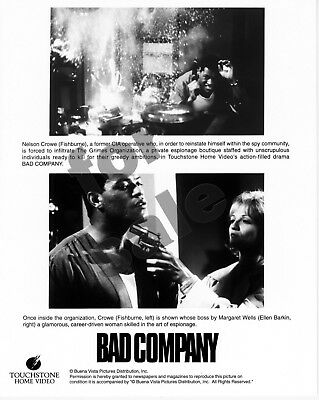 Bad Company Movie Still B&W Photo 2 Color Slides +Production Book Ellen Barkin
