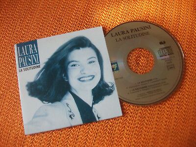 Laura Pausini, La Solitudine, Cd Single Card