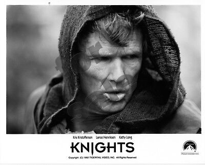 Knights Sci-Fi Movie Still B&W Photo Kris Kristofferson