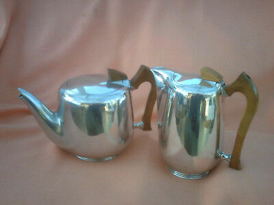 Vintage Picquot Ware Teapot  And Water Jug  Good Clean Condition