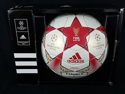 Adidas Official Matchball Uefa Champions League Final Moscow 2008 Box 601354