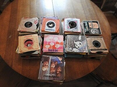"""Nice Lot Of 450 45's Records Jukebox 7"""" 45 rpm"""