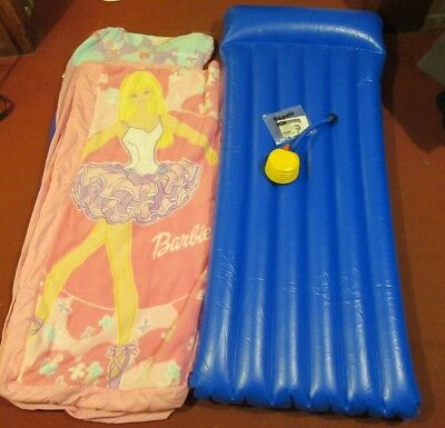Child's ReadyBed - with Barbie on cover (pink)