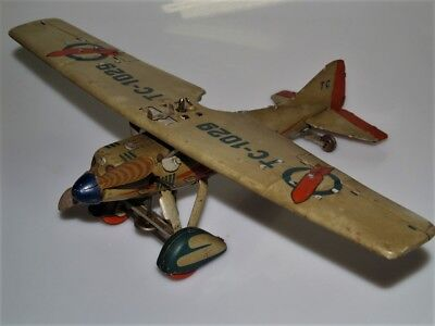 TCO TippCo Flugzeug Typ TC-1029 - Exportversion des OLAF - Made in Germany 1935