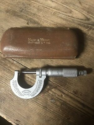 Moore & Wright Imperial Thread Micrometer