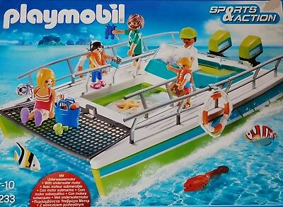 playmobil Glasboot Mit Motor