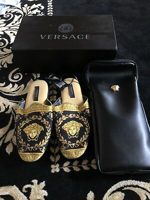 Versace I Genuine ♡ BAROQUE BATH SLIPPERS