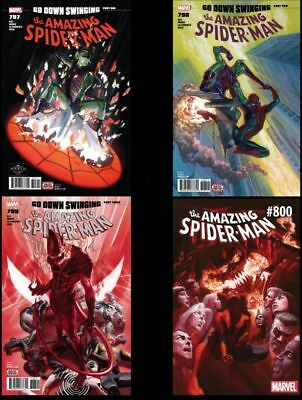Amazing Spider-Man 797-800 Go Down Swinging Complete Set NM 1st App Red Goblin