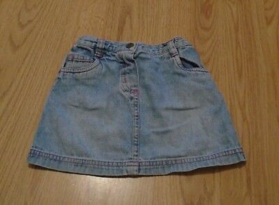 Next Baby Girls Denim Skirt X2 12-18 Months Skirts Girls' Clothing (newborn-5t)