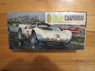 Aurora -1965 Issue- Chevy Chaparral 1/32 Model Kit--Factory Sealed!! #668-79