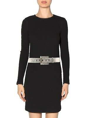 KARA ROSS Lizard Buckle Belt