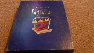 Walt Disney's Fantasia Deluxe Limited Commemorative Collector Edition VHS video