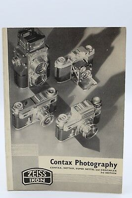 VINTAGE  ZEISS IKON CONTAX PHOTOGRAPHY 3rd  EDITION
