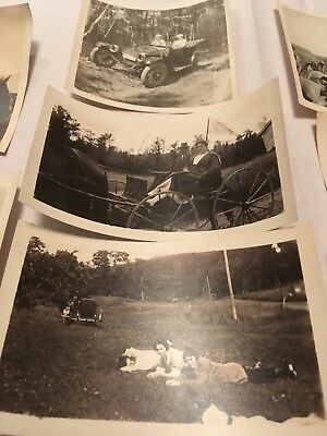 Lot of Antique to Vintage Photographs ~ Horse & Buggy, Farming, Horses, Savoy Ma
