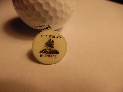 St Andrews by the Lake Plastic Golf Ball Marker