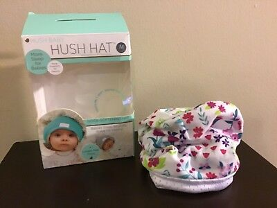 """BRAND NEW IN BOX"" HUSH HAT FOR INFANTS SIZE: MEDIUM (2-4 Months)"