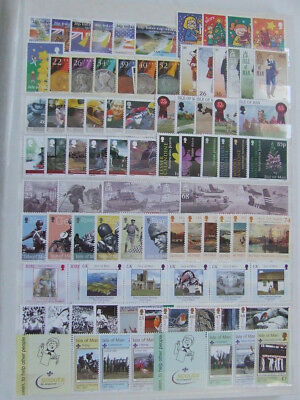 ISLE OF MAN 2000 to 2009 MNH SETS & MINI SHEETS COLLECTION