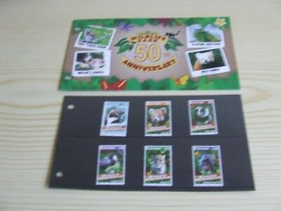 Isle Of Man Presentation Pack With Mnh Stamps - 2015 Curraghs Wildlife Park