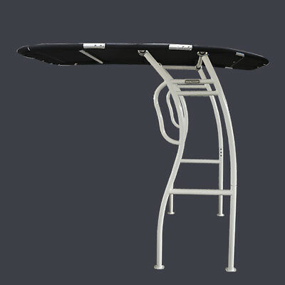 New! Dolphin Pro2 T top White Coated Frame Black Canopy w/ QR Knob&Light Mount