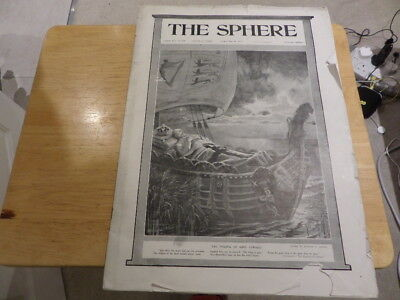 THE SPHERE VOL XLI no 540  - LONDON MAY 28th 1910  - DEATH OF KING EDWARD VII