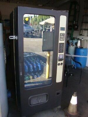 Soda And Snack Machine, Works Great, Takes Coins , Dollar Bills And Five Dollar