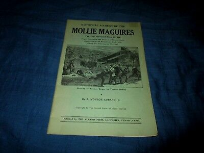 Historical Account Of The Mollie Maguires-A.onroe Aurand Jr-Vintage Booklet
