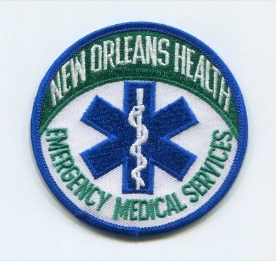New Orleans Health Emergency Medical Services Ems Patch Louisiana La Ambulance