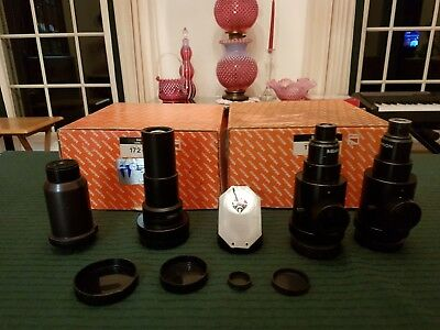 Lot of 4 Mitutoyo Projection, Objective lenses 172-153 172-151
