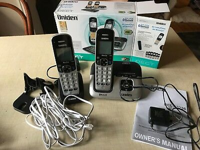 Uniden DECT3236+1 DECT Digital Cordless Phone System  - great condition