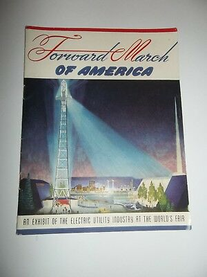 World's Fair Forward March Of America Pp&l 1935