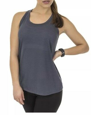 8ef8a66dc8d39 Athletic Works Women Active Workout Racerback Tank Top Shirt Gray Sizes XXL