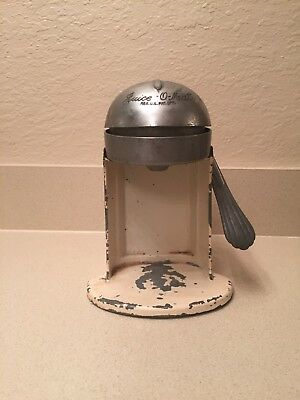 "Vintage Art Deco ""Juice-O-Mat"" Manual Citrus Juicer 1930's Rival Brand USA"