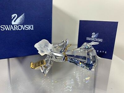 Swarovski Crystal 2000 Annual Edition Angel Christmas Ornament 904989 MIB W/COA