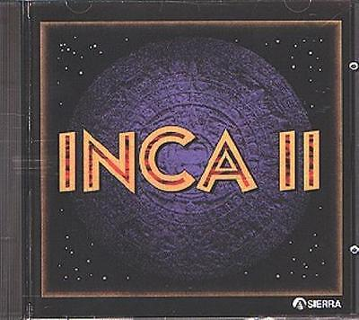 INCA II (PC-CD, 1994) for DOS - NEW CD in SLEEVE