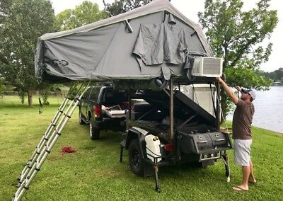 camping trailer used