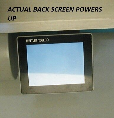BACK Customer Screen for Mettler Toledo Impact M Pact M Scale