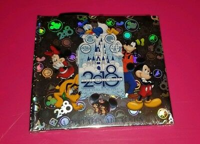 Walt Disney World  2018 Silver Autograph Photo Book with Pen NEW