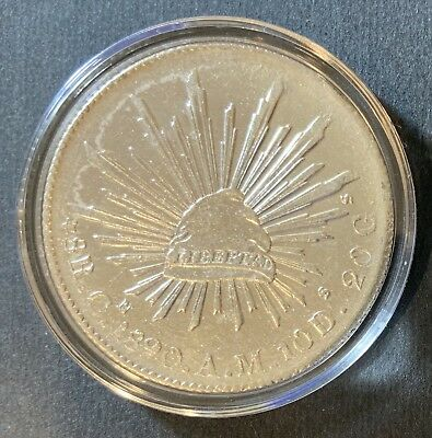 1890 Mexican Silver Reales