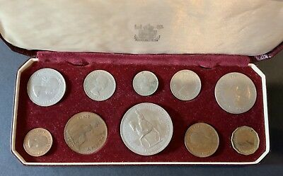 1953 British Coin Set