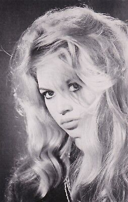 BRIGITTE BARDOT- hollywood MOVIE STAR/actress  GLAMOUR 1950s  PICTURE photocard