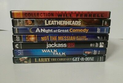 7 DVD Lot Comedy Movies Films Specials Assorted
