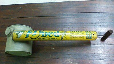 Vintage Fly Ded Insect Spray Bug Sprayer