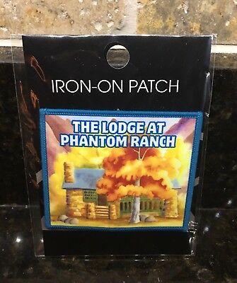 *NEW* Official Phantom Ranch Patch Grand Canyon National Park  <Latest Design >