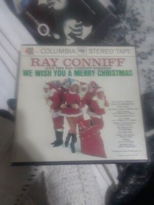 Ray Conniff Singers We Wish You A Merry Christmas 7 1/2 IPS Reel To Reel 4 Track