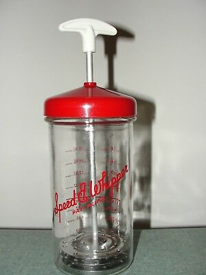 Vintage Speed E Whipper hand mixer