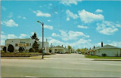 Pacific Motel Vancouver BC Kingsway Rolly Ford Unused Vintage Postcard D62