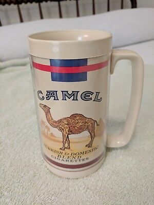 Insulated Thermo Serv Camel cigarette mug vintage very good condition